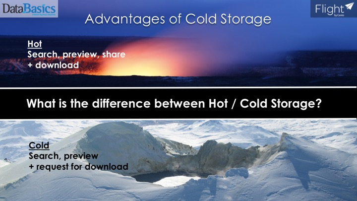 Video 1 Hot vs cold storage - this video shows the difference  sc 1 st  DataBasics & Advantages of Cold Storage in Flight - DataBasics